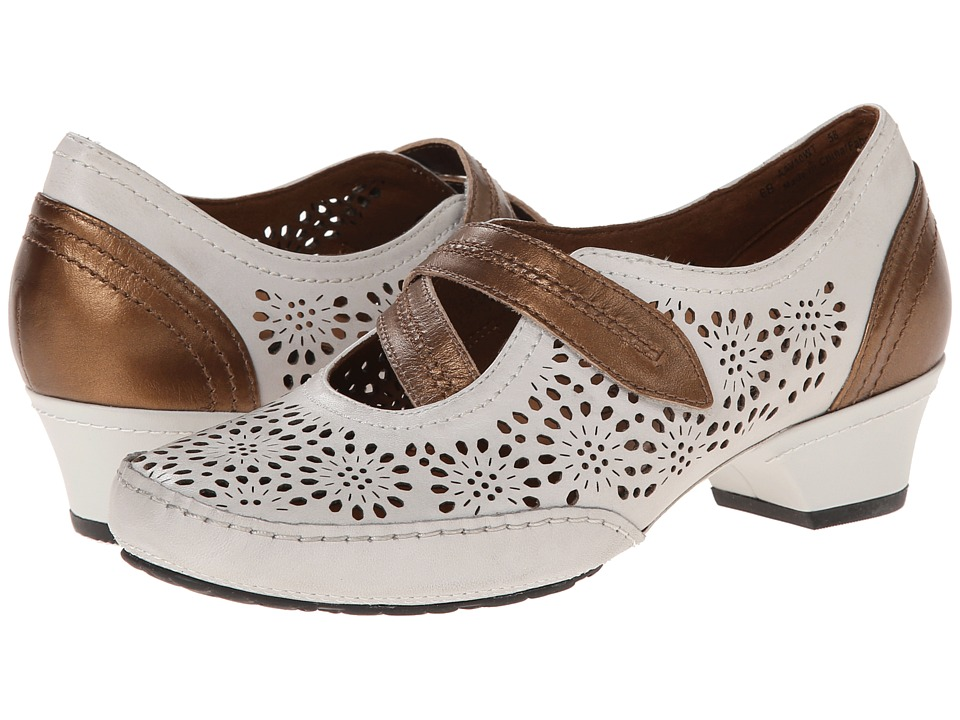 Aravon - Flex-Lacey (White) Women's Maryjane Shoes
