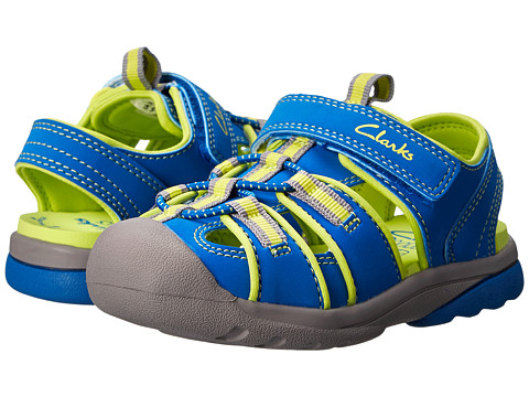 Clarks Kids - Beach Tide (Toddler/Little Kid) (Blue) Boy's Shoes