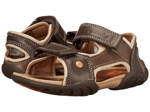 Clarks Kids - Mirlo Deck (Toddler/Little Kid) (Brown) Boy