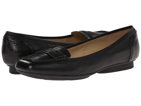 Geox - D Stefany (Black) Women's Flat Shoes