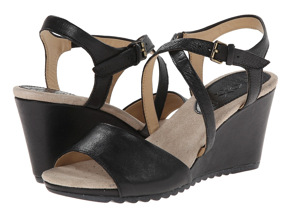 Geox - D Alias 1 (Black 2) Women's Wedge Shoes