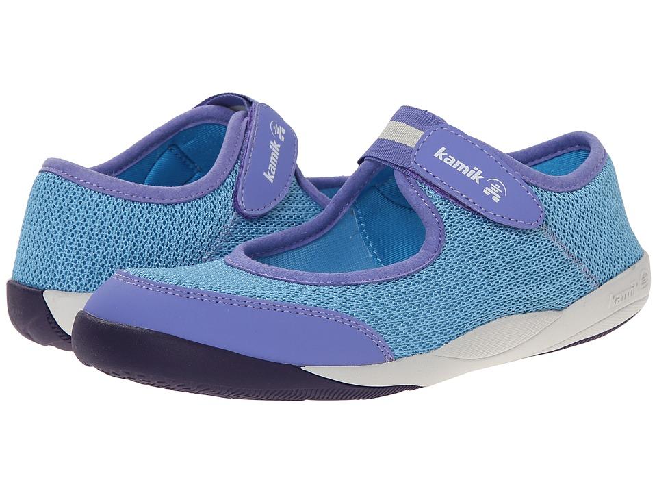 Kamik Kids - Mary Jane (Toddler/Little Kid/Big Kid) (Blue) Girls Shoes