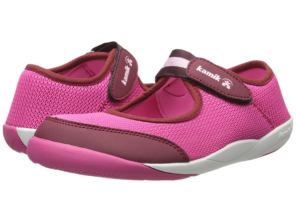 Kamik Kids - Mary Jane (Toddler/Little Kid/Big Kid) (Fuchsia) Girls Shoes