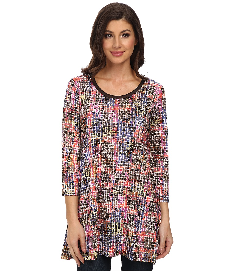 NIC+ZOE - Tiny Squares Tunic (Multi) Women