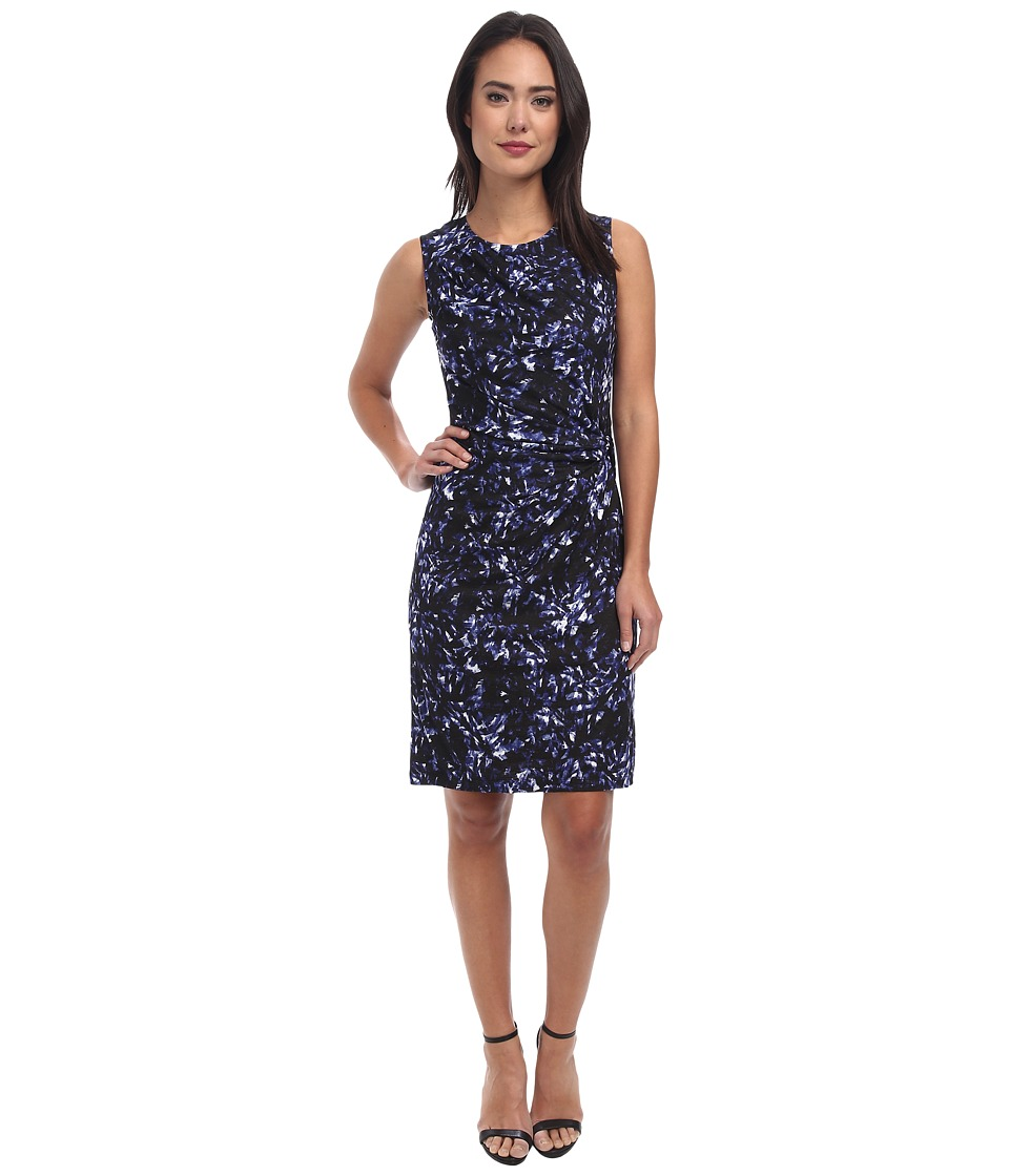 NIC+ZOE - Black Mark Dress (Multi) Women