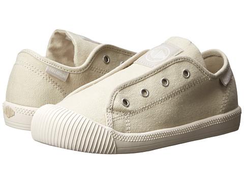 Palladium Kids - Flex Slip-On TO (Toddler) (Ivory/Marshmallow) Kids Shoes