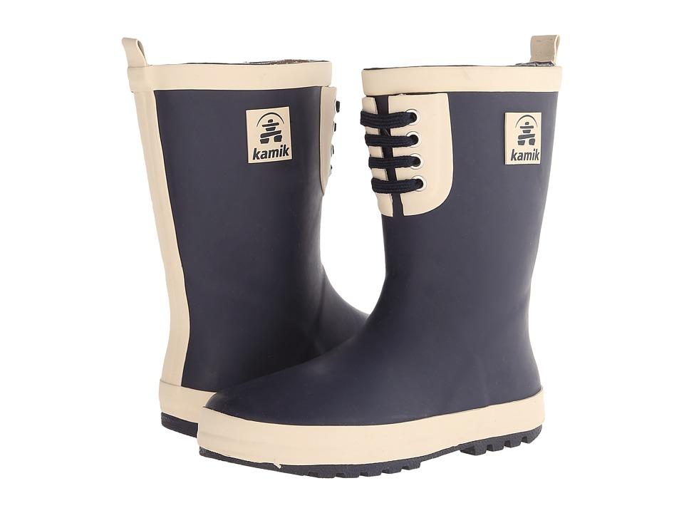 Kamik Kids - Raingame (Little Kid) (Navy) Boys Shoes