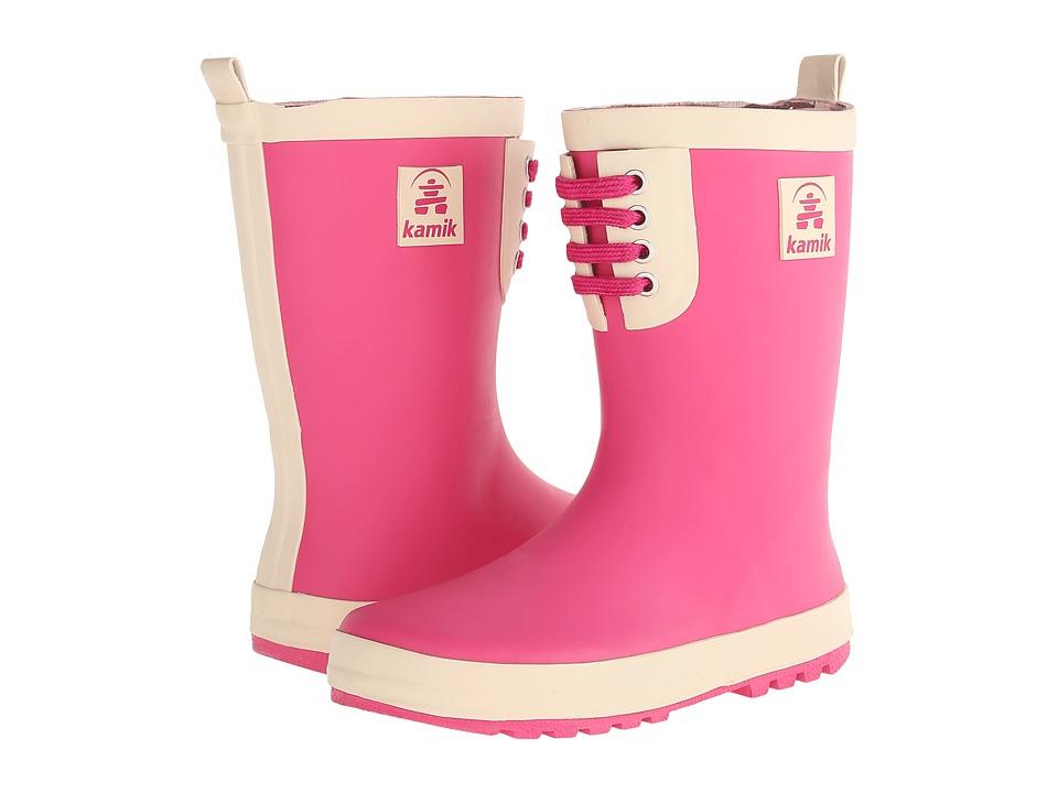 Kamik Kids - Raingame (Little Kid) (Pink) Girls Shoes