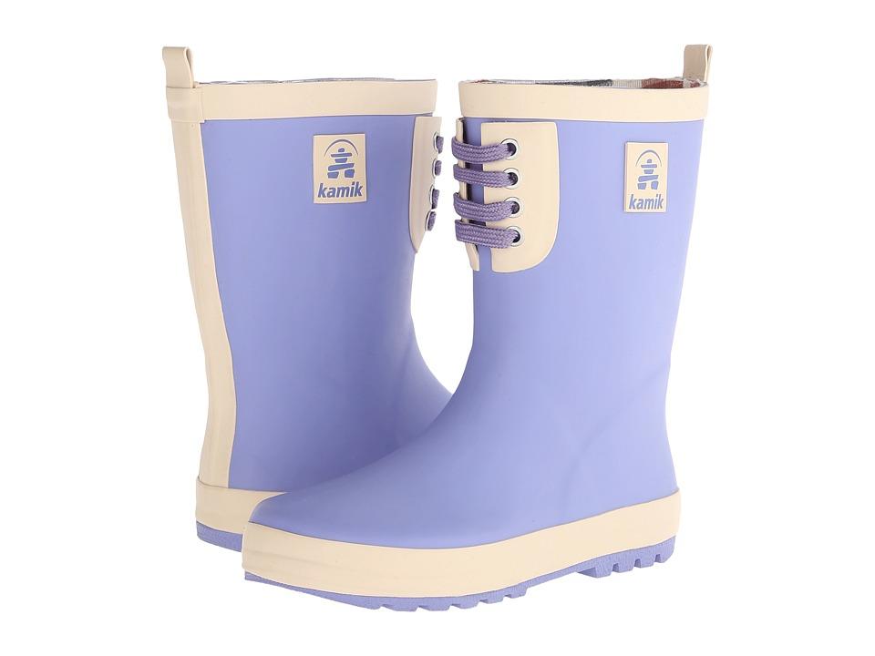 Kamik Kids - Raingame (Little Kid) (Periwinkle) Girls Shoes