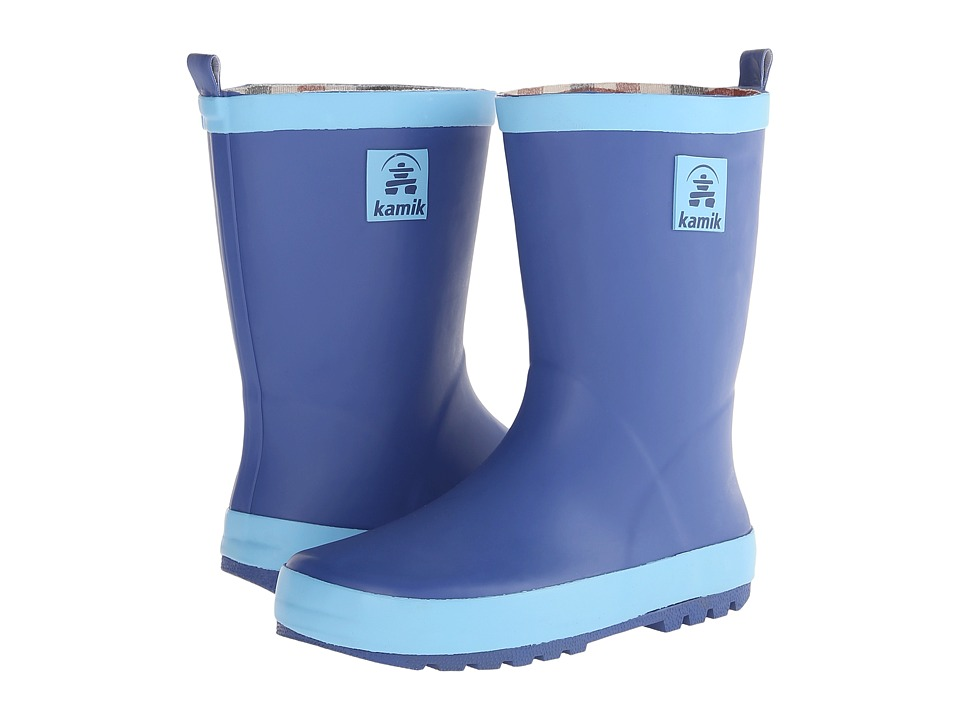 Kamik Kids - Sprout (Little Kid) (Dark Blue) Boys Shoes