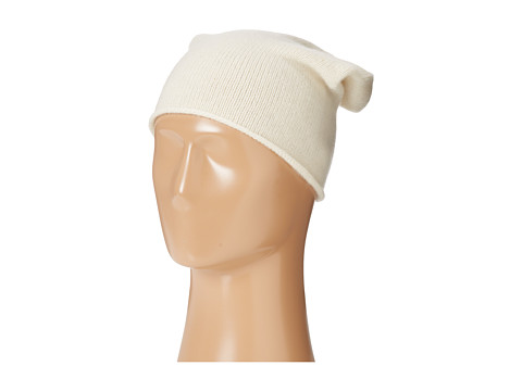 Hat Attack - Cashmere Slouchy (Ivory) Beanies