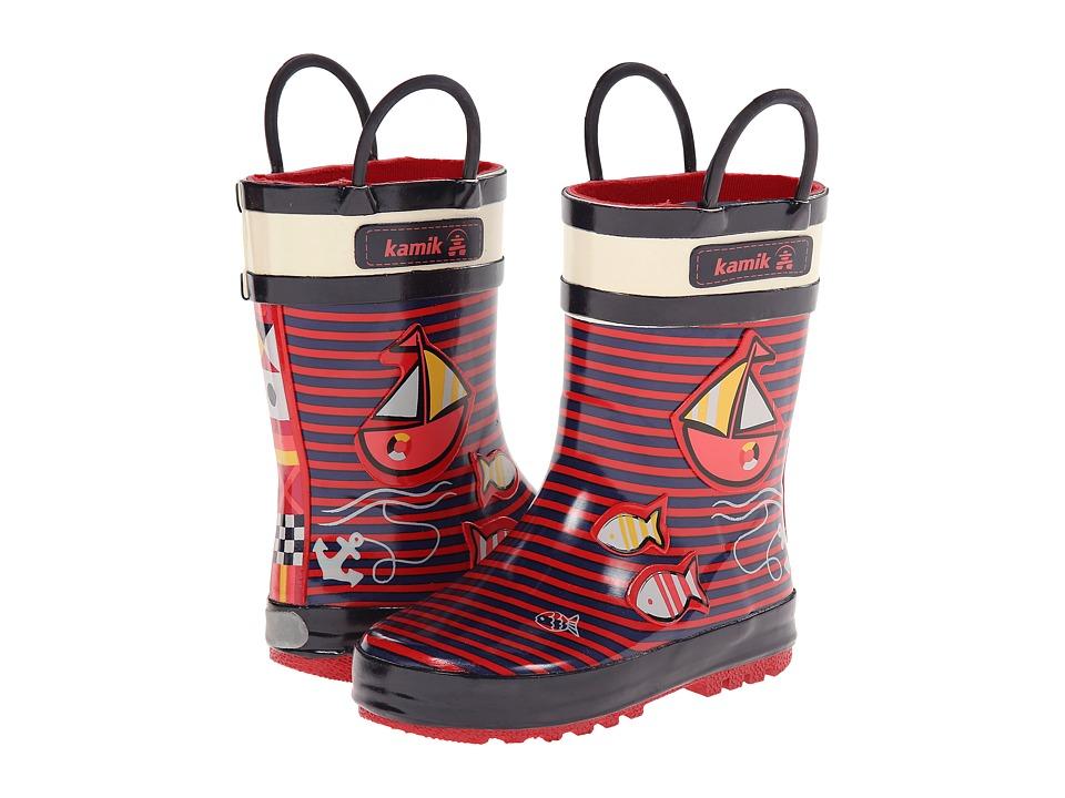 Kamik Kids - Ahoy (Toddler/Little Kid) (Rose) Kids Shoes