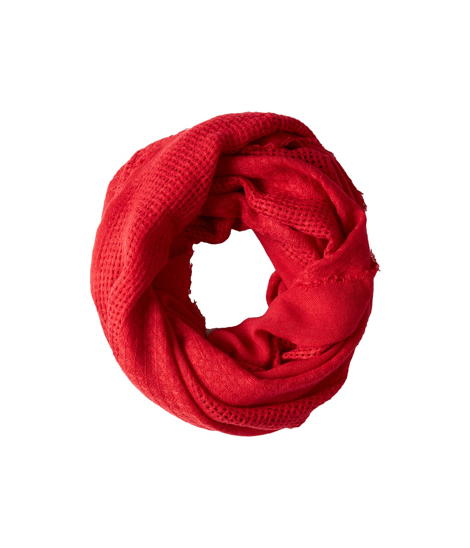 Hat Attack - Textured Everyday Loop (Berry) Scarves