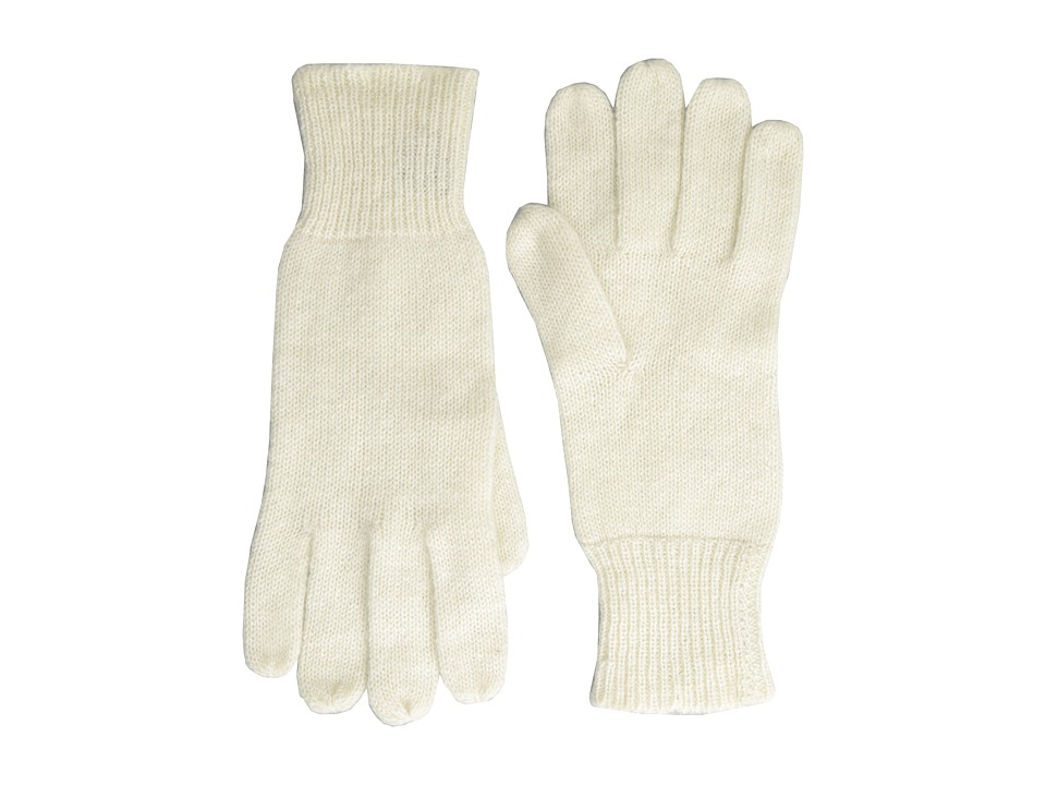 Hat Attack - Cashmere Glove (Ivory) Dress Gloves