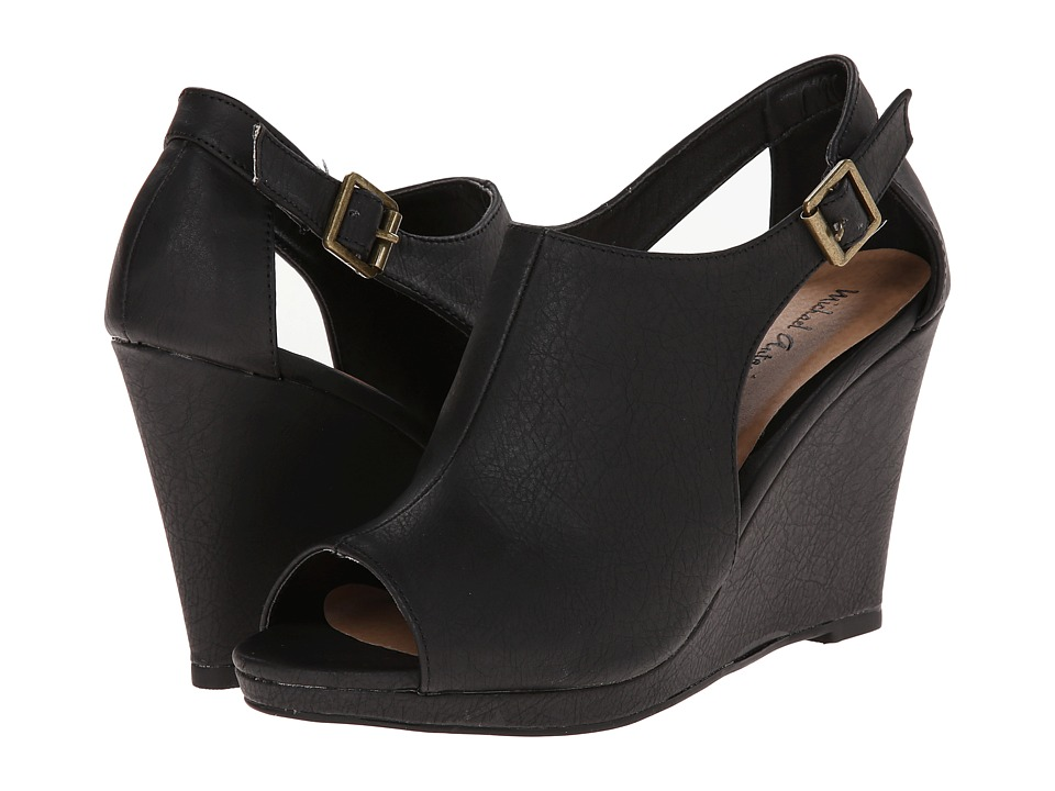Michael Antonio - Audrey (Black) Women's Wedge Shoes