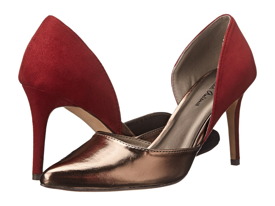 Michael Antonio - Lanza Metallic (Bronze (Red)) High Heels