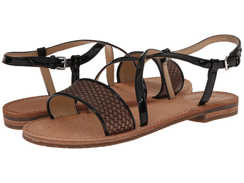 Geox - D Jolanda (Dove Grey/Black) Women's Sandals