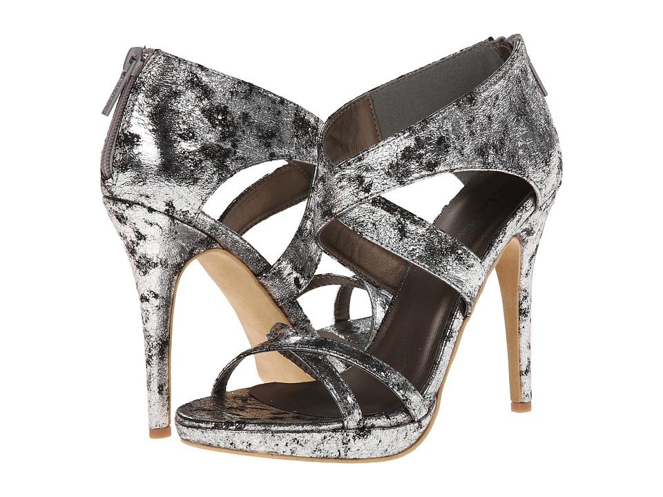 Michael Antonio - Tamzah Metallic (Silver) High Heels