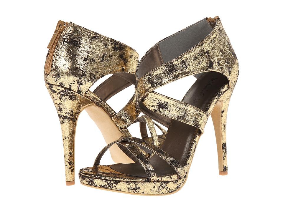 Michael Antonio - Tamzah Metallic (Gold) High Heels