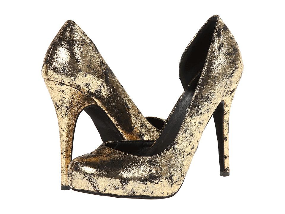 Michael Antonio - Latanya Metallic (Gold) High Heels