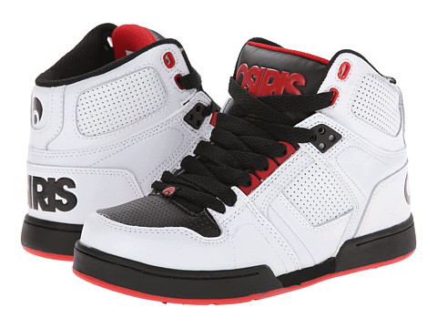 Osiris Kids - NYC 83 (Little Kid/Big Kid) (White/Black) Boys Shoes