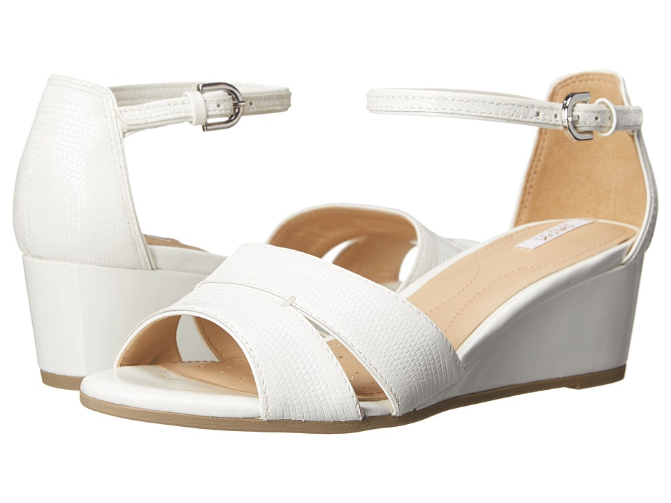 Geox - D Lupe (White) Women's Sandals