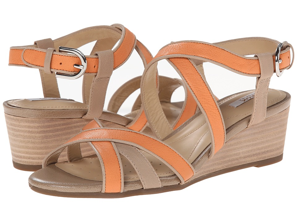 Geox - D Lupe (Orange/Taupe) Women