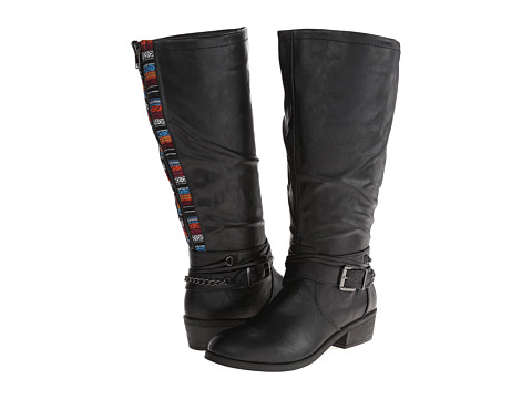 Pink & Pepper - Robbin Wide Calf (Black) Women's Boots