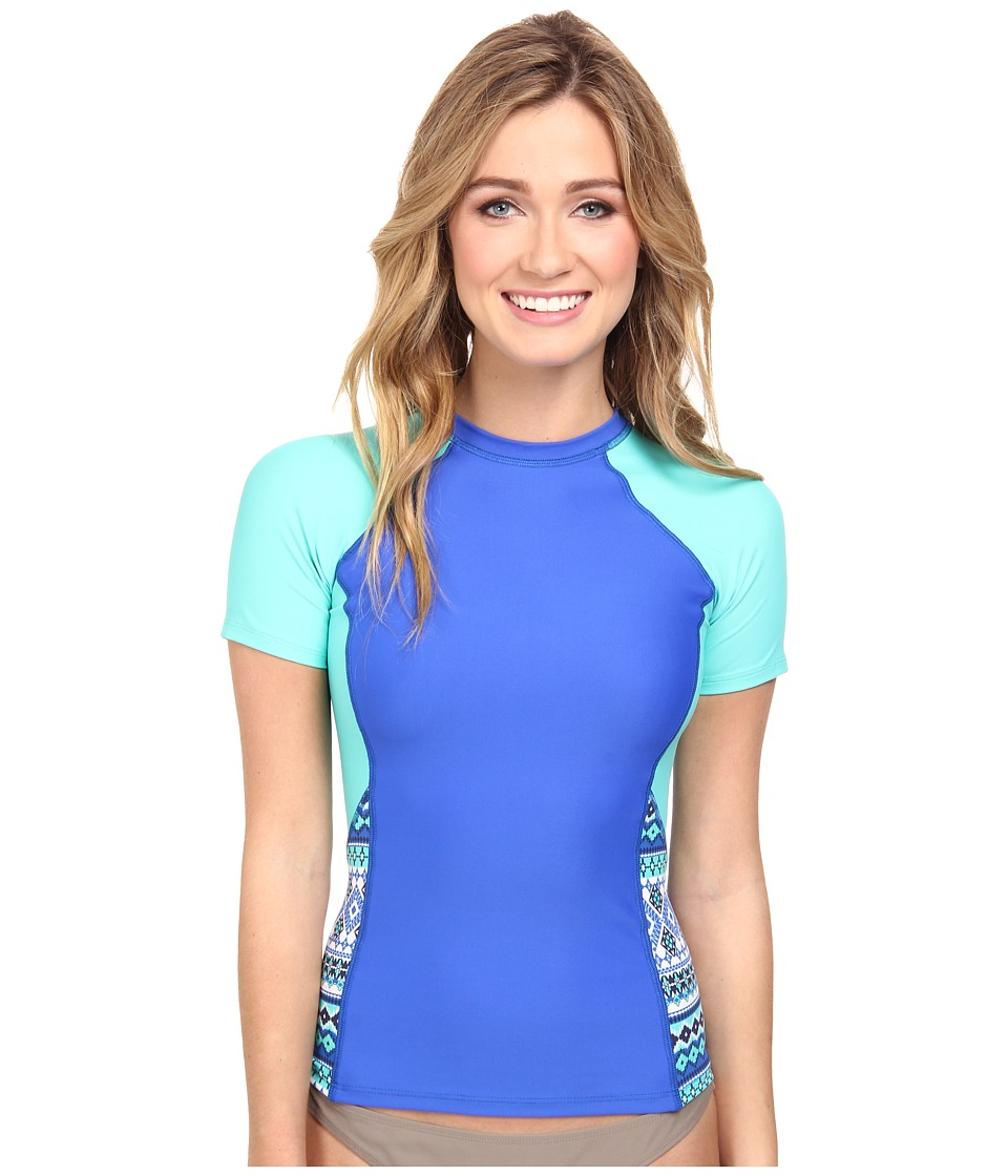 Next by Athena - Perfection Surf Shirt (Blue) Women's Swimwear