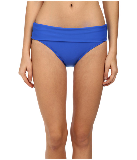 Next by Athena - Good Karma Powerhouse Banded Retro Bottom (Blue) Women's Swimwear