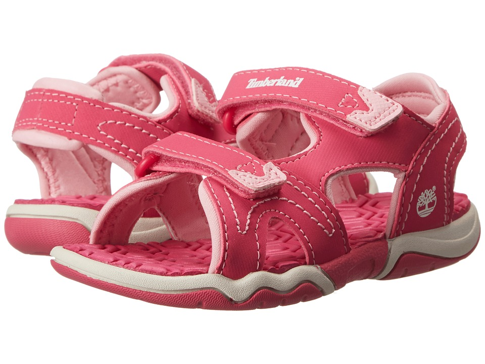 Timberland Kids - Adventure Seeker 2-Strap Sandal (Toddler/Little Kid) (Pink) Girls Shoes