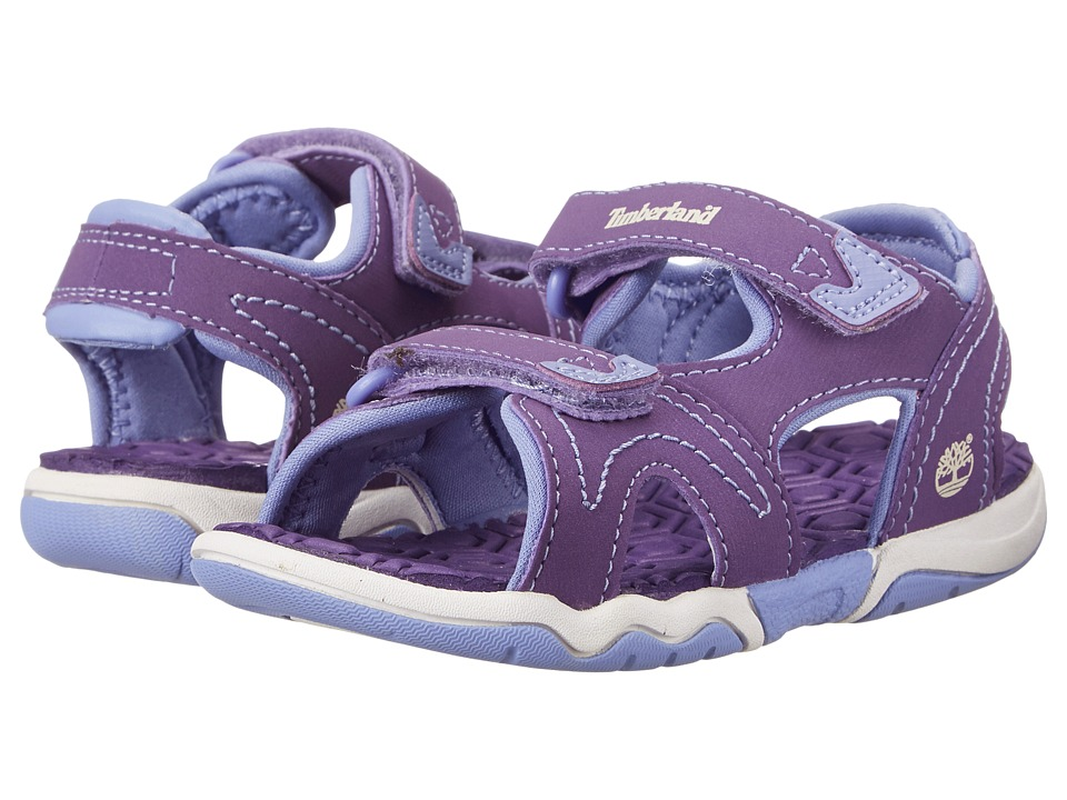 Timberland Kids - Adventure Seeker 2-Strap Sandal (Toddler/Little Kid) (Purple/Periwinkle) Girls Shoes