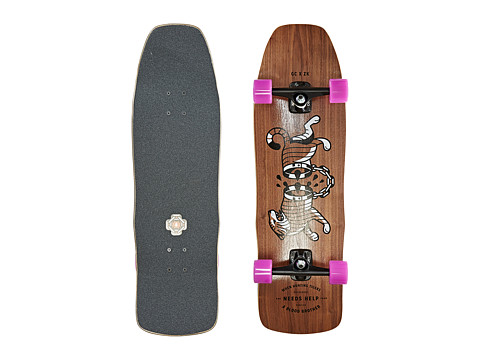 Gold Coast - The Carnales (Walnut) Skateboards Sports Equipment