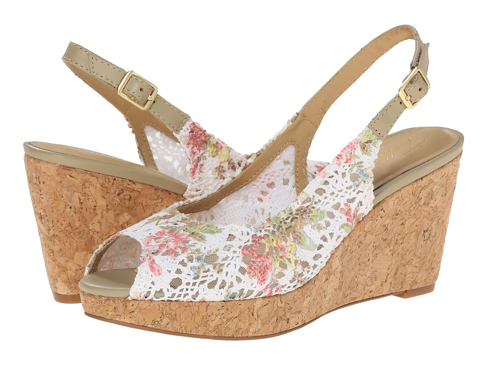 Trotters Allie (Floral Crochet) Women