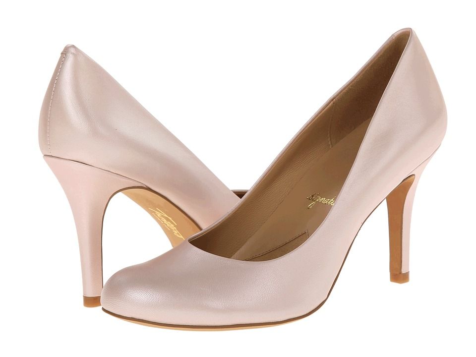 Trotters - Gigi (Light Pink Pearlized Glazed Kid Leather) High Heels