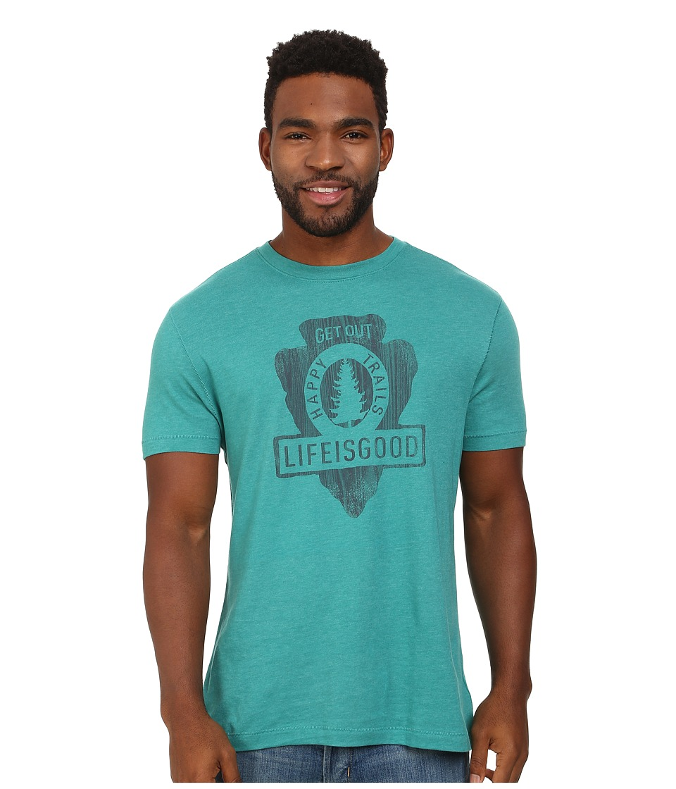 Life is good - Cool Tee 3 (Teal Blue) Men