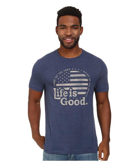 Life is good - Cool Tee 3 (Darkest Blue 2) Men