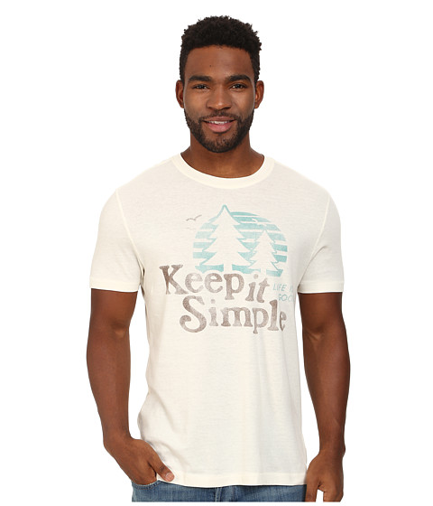Life is good - Cool Tee 3 (Simply Ivory) Men's T Shirt