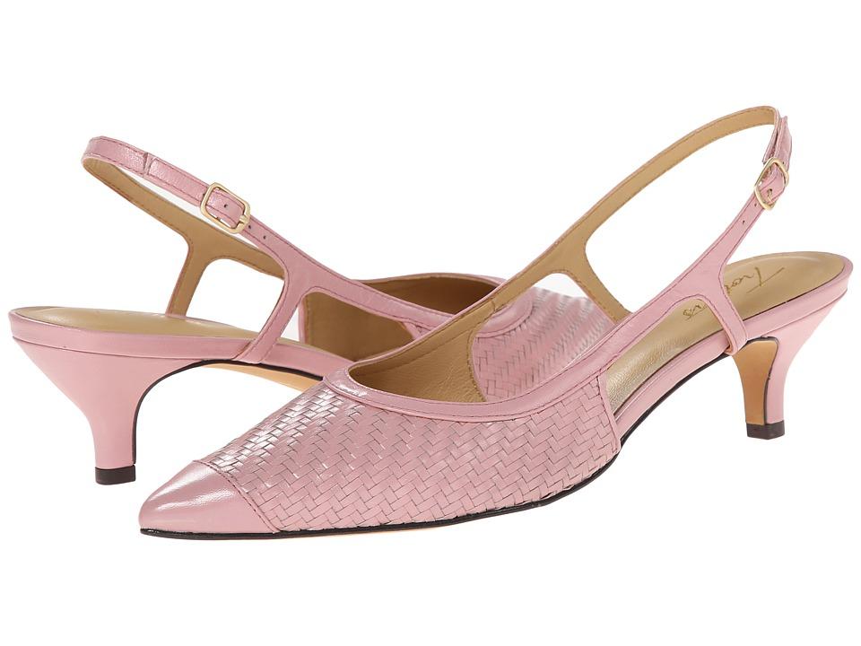Trotters - Kimberly (Pale Pink Burnished Veg Kid Leather) Women