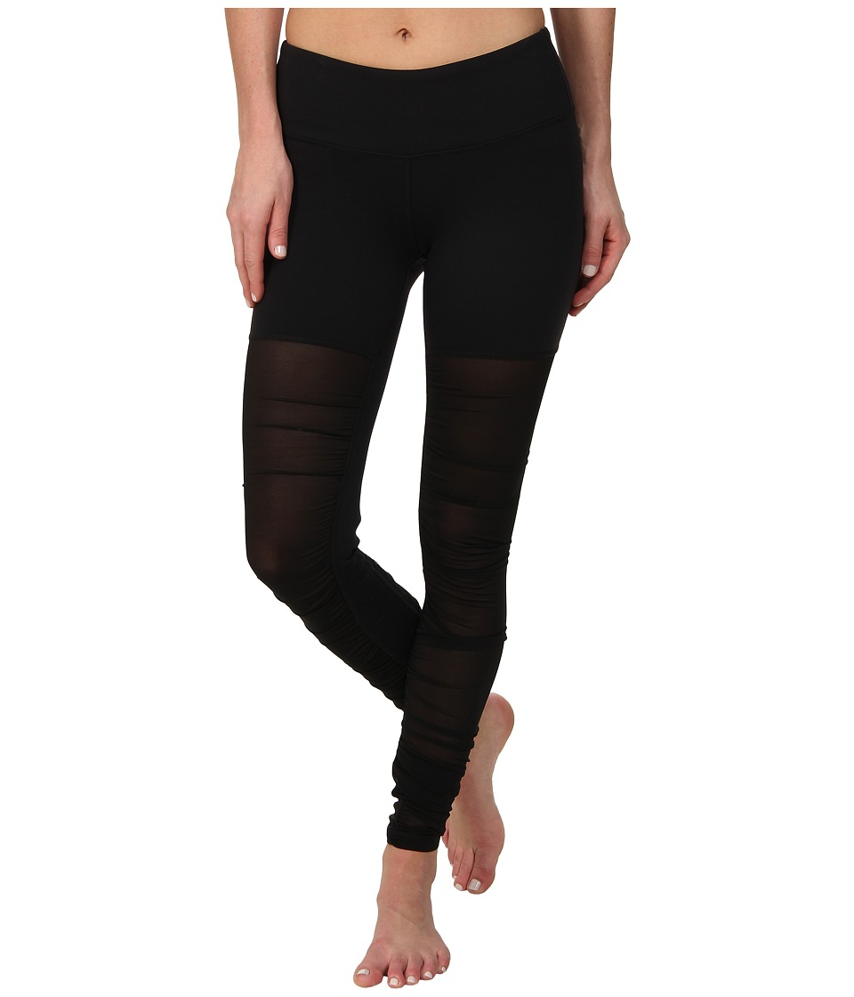 ALO - Mesh Goddess Legging (Black) Women's Workout