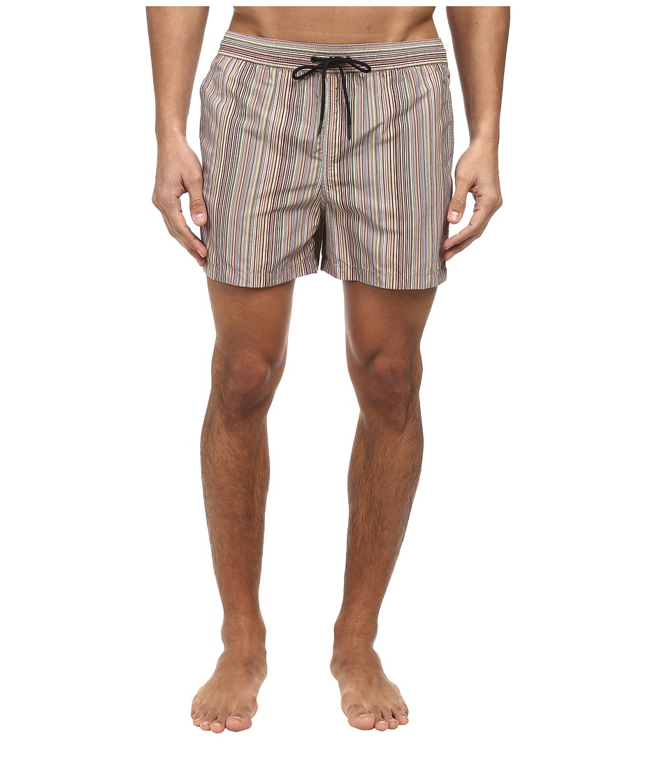 Paul Smith - Multi-Stripe Classic Swim Short (Multi) Men