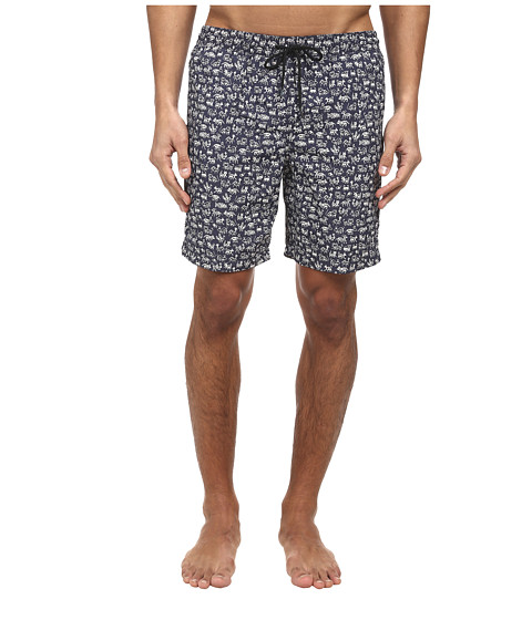 Paul Smith - Little Monsters Classic Swim Short (Navy) Men