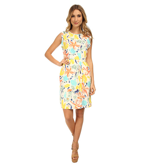 Paul Smith - Floral Shift Dress (Yellow) Women's Dress