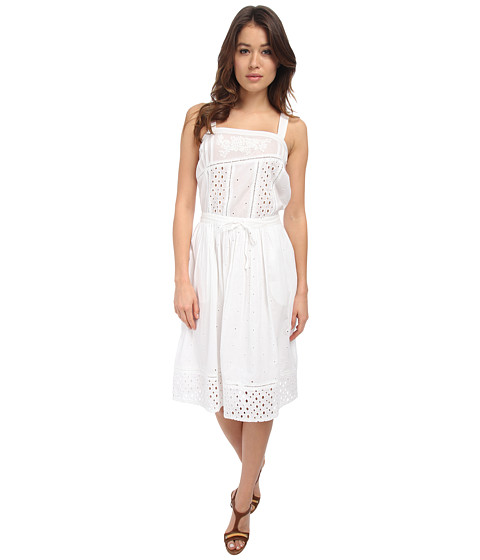 Paul Smith - Broiderie Dress (White) Women's Dress