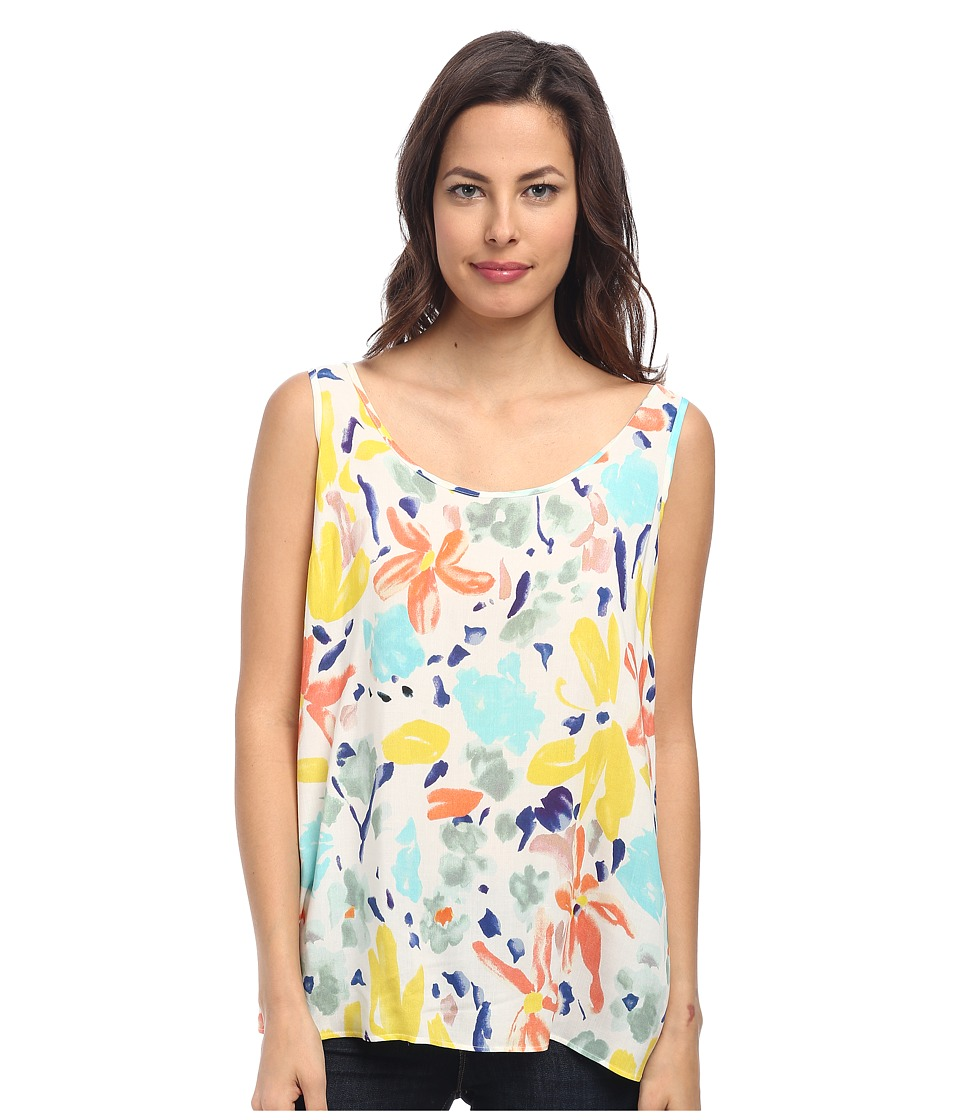 Paul Smith - Floral Cami (Yellow) Women's Sleeveless