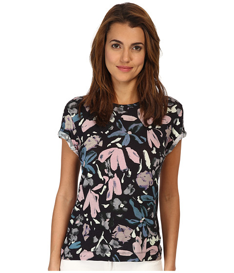 Paul Smith - Floral Tee (Black) Women's T Shirt