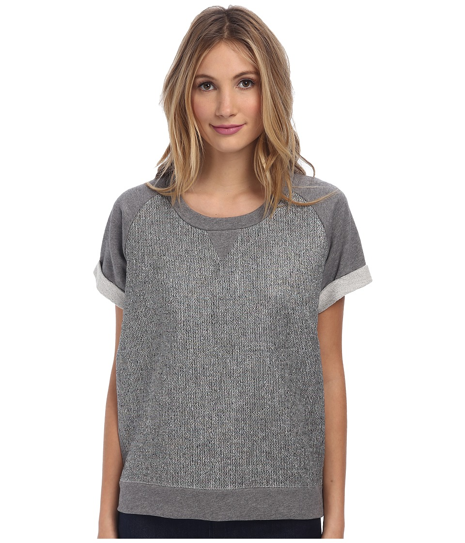 Paul Smith - Short Sleeve Sweat with Lurex (Grey) Women