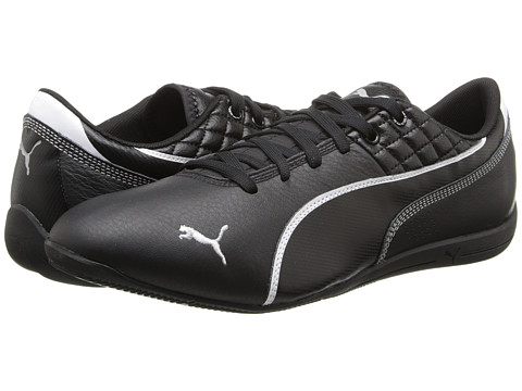 PUMA - Drift Cat 6 Tech (Black/White) Men
