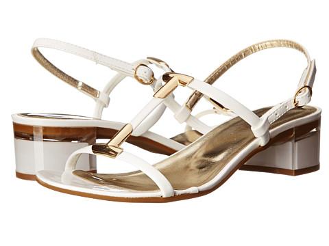 Sesto Meucci - Amaris (White Super Patent) Women's 1-2 inch heel Shoes