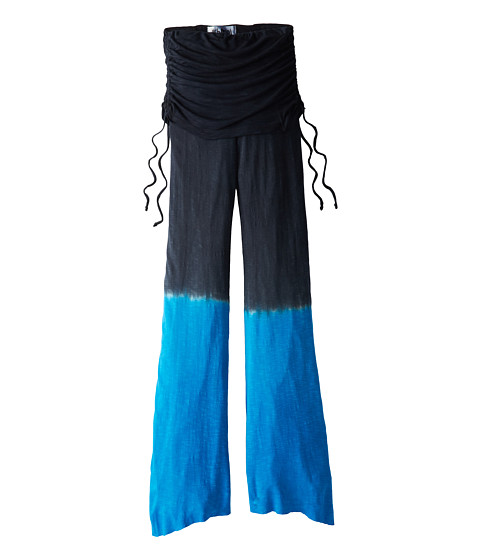 Young Fabulous & Broke Mini - Sierra Pant (Little Kids/Big Kids) (Black/Blue Ombre) Girl's Casual Pants